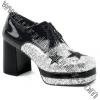 GLAMROCK-02 Black/Silver Glitter